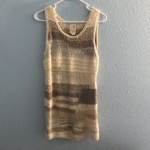 Far away from close by Anthropologie jumper/dress